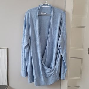 Blue wrap sweater from Reitmans.  Size 3x.
